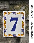House Number 7  Made In Cerami...