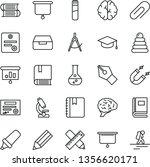 thin line vector icon set  ... | Shutterstock .eps vector #1356620171