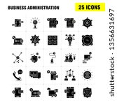 business administration solid... | Shutterstock .eps vector #1356631697