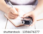 audio voice recorder using for... | Shutterstock . vector #1356676277