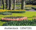 Beautiful Dutch Spring Garden...