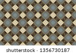 colorful seamless repeating... | Shutterstock . vector #1356730187