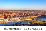 wurzburg cityscape with the... | Shutterstock . vector #1356766181