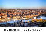wurzburg cityscape with the... | Shutterstock . vector #1356766187