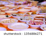 indian holy rituals  | Shutterstock . vector #1356886271