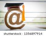 e learning online graduation...   Shutterstock . vector #1356897914