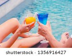 couples enjoy with cocktail...   Shutterstock . vector #1356916427