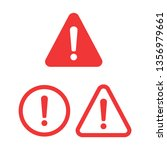 attention please badge or... | Shutterstock .eps vector #1356979661