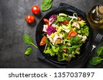 Green Salad With Chicken And...