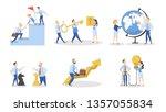 business people set. office... | Shutterstock . vector #1357055834