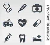 vector illustration of medicine ...   Shutterstock .eps vector #135707375