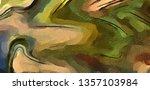 abstract modern swirl marbled... | Shutterstock . vector #1357103984