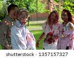 hameenlinna  finland 06 13 2014 ... | Shutterstock . vector #1357157327