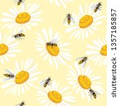 cute seamless pattern with... | Shutterstock .eps vector #1357185857