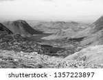 black and white view of ... | Shutterstock . vector #1357223897