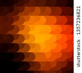 dark orange vector pattern with ...