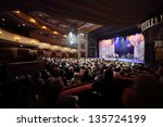 moscow   apr 23  concert at... | Shutterstock . vector #135724199