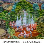 lamphun  thailand   november 16 ... | Shutterstock . vector #1357265621