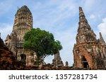 history of ayutthaya...   Shutterstock . vector #1357281734