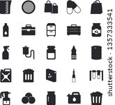 solid vector icon set   tool...   Shutterstock .eps vector #1357333541