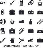 solid vector icon set   apron...   Shutterstock .eps vector #1357333724