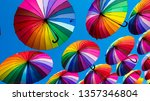Rainbow Umbrella Colorful...