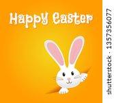 easter rabbit  easter bunny | Shutterstock .eps vector #1357356077