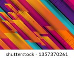 abstract background design with ... | Shutterstock .eps vector #1357370261