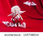 Rag Doll Cupid With Wings ...