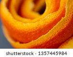macro citrus fruit peel.... | Shutterstock . vector #1357445984