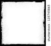 grunge frame | Shutterstock . vector #135745865