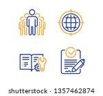 seo internet  group and... | Shutterstock .eps vector #1357462874