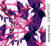 watercolor seamless pattern... | Shutterstock . vector #1357477727