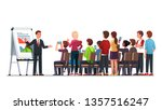 business class teacher   mentor ... | Shutterstock .eps vector #1357516247