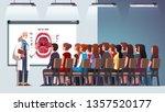 dentist professor giving... | Shutterstock .eps vector #1357520177