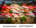a collection regional fish for...   Shutterstock . vector #1357520447