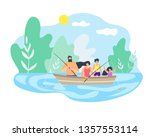 best time in nature on... | Shutterstock .eps vector #1357553114