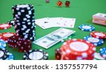 3d illustration casino game.... | Shutterstock . vector #1357557794