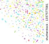 sprinkles grainy. cupcake... | Shutterstock .eps vector #1357577081