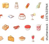 food images. background for... | Shutterstock .eps vector #1357633964