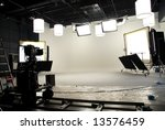 interior of a studio | Shutterstock . vector #13576459