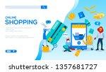 online shopping flat landing...