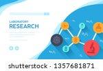 laboratory research vector... | Shutterstock .eps vector #1357681871