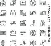 thin line vector icon set  ... | Shutterstock .eps vector #1357793237