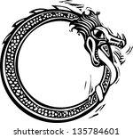 woodcut style image of the... | Shutterstock .eps vector #135784601