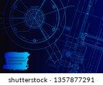 cover  flyer. vector... | Shutterstock .eps vector #1357877291