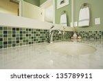 Bathroom Sink Of An Upscale...