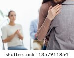 cropped view of woman embracing ... | Shutterstock . vector #1357911854