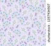 gardening seamless pattern with ... | Shutterstock .eps vector #1357934507