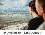 Baltic Sea Landscape. Stormy...